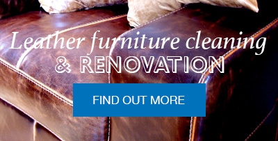 Leather furniture cleaning and renovation